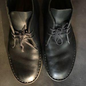 Clarks desert boot, all black, size 10.5